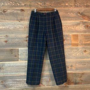 PENDLETON • Vintage Tartan Plaid Wool Pants